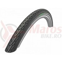 Anvelopa Schwalbe Road Cruiser, Active Line, K-Guard, 28x1.60 (42-622) B/B+RT, Green, HS484, negru cu dunga reflectorizanta