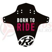 Aparatoare Reverse Born to Ride negru/alb/roz