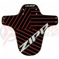 Aparatoare Zipp MTB Fender Black Red Accent Print