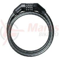 Lacat cifru Trelock 100cm, 15mm PK 260/100/15,black