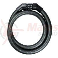 Lacat cifru 100cm,19mm PK 260/100/19, black