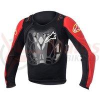 Armura Alpinestars Youth Bionic Jacket black/red one size