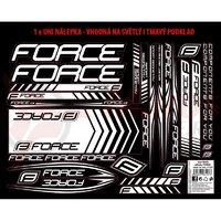 Autocolante cadru MTB si Road logo Force Ren 37x27 cm