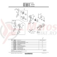 Ax B-AXLE2 Shimano RD-M670 prindere directa