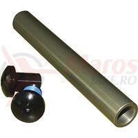 Ax fata Bolton - NOVATEC, 20x148 mm, aluminiu