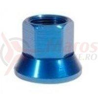 Axle Nuts 14mm albastru single