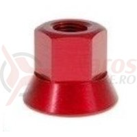 Axle Nuts 14mm rosu single