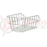 Cos bicicleta spate Cento Aluminium 40x24x21 cm alufarbig