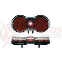 Lumina spate Busch&Muller diod Toplight Flat plus 80/50 mm, Vario Bolts