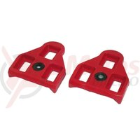 backup cleats Xpedo LookDelta compatible 9° red