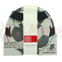 Ball cage Kicker Fahrer black/white