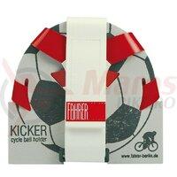 Ball Cage Kicker Fahrer red/white