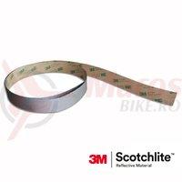 Banda autocolant Reflectorizant Salzmann 3M, 2,54x100cm, argintie