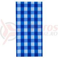 Bandana M-Wave 24x48 cm Blue Squared