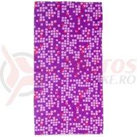 Bandana M-WAVE Purple Squared
