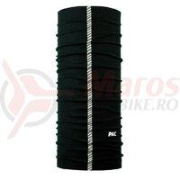Bandana P.A.C Reflector, microfibra Total Black 8840-027