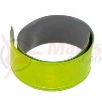 Banderola reflectorizanta 3M Slap wrap pentru rulare pe brat/picior 3x38 cm verde