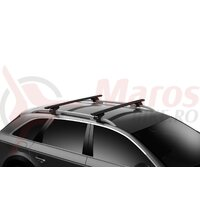 Bare transversale THULE WingBar Evo 135 (set 2 bare) - Black
