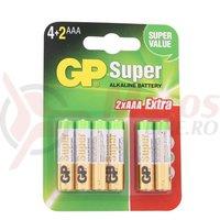 Baterie alcalina GP Super R3 AAA