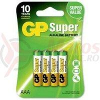 Baterie alcalina Super GP R3 AAA