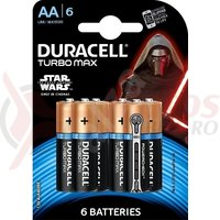 Baterie Duracell AA/6 Turbo Max