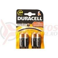 Baterii Duracell AA Basic K4 LR6/MN1500