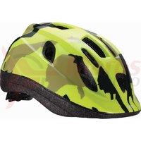 BBB Casca BHE-3733 Boogy camouflage galben neon