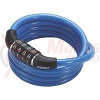 BBB Lacat BBL-6502 8x1200 mm QuickCode albastru