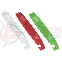 BBB Leviere anvelopa EasyLift 3 bucati rosu/alb/verde