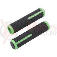 BBB Mansoane DualGrip 125mm negru/verde