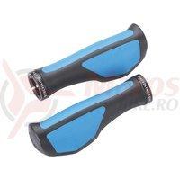 BBB mansoane ErgoFix 132 mm negru/albastru