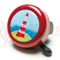 Sonerie motive Reich Lighthouse 55mm chili red