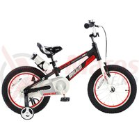 "Bicicleta 12″ RoyalBaby ""SPACE NO. 1″ neagra"