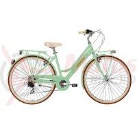 Bicicleta Adriatica City Retro Lady verde