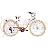 Bicicleta Adriatica Cruiser Lady alba 2016 C