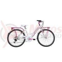 Bicicleta Adriatica CTB 24 6V Donna alba