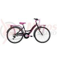 Bicicleta Adriatica CTB 24 6V Donna neagra C