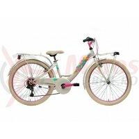 Bicicleta Adriatica CTB 24 Donna 2021 6V alba