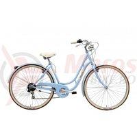 Bicicleta Adriatica Danish Lady 28 6s albastru deschis