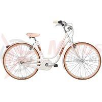 Bicicleta Adriatica Danish Lady Shimano 6S alb