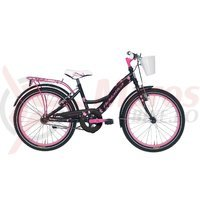 Bicicleta Adriatica Girl 20 negru/roz C
