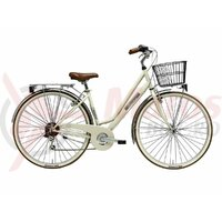 Bicicleta Adriatica Panarea Lady 28' 6S cream
