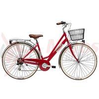 Bicicleta Adriatica Panarea Lady 28' 6S rosie