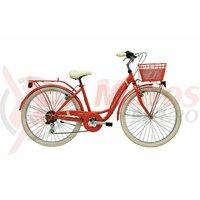 Bicicleta Adriatica Panda 26 Lady 6V Lobster Red