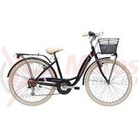 Bicicleta Adriatica Panda 26 Lady 6V neagra mat