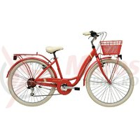 Bicicleta Adriatica Panda 26 Lady 6V rosu mat