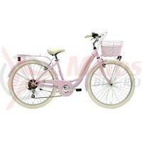Bicicleta Adriatica Panda 26 Lady 6V Roz