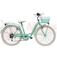 Bicicleta Adriatica Panda 26 Lady 6V verde matt