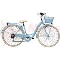 Bicicleta Adriatica Panda 28 Lady 6V albastru matt