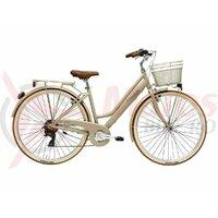 Bicicleta Adriatica Retro 28' Lady 6s maro